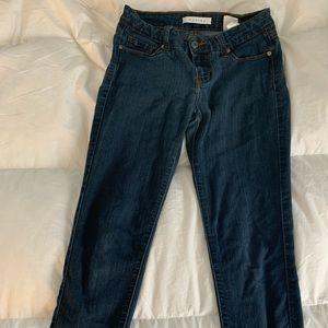 Jeans - Francesca's dark wash jeggings